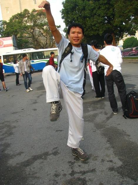 Việt Nhật Karatedo Club - Chạy vì trẻ em - Run for children - Terry Fox - 2011