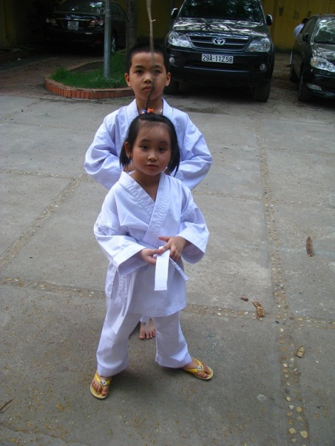 viet nhat karatedo club - day karatedo cho tre em